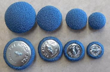 Cushion buttons crepe fabric 901