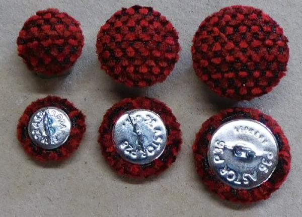 Cushion buttons upholstery fabric 509